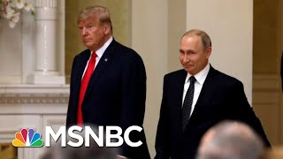 Lawrence: Vladimir Putin Made A Big Mistake In His Presser With Donald Trump | The Last Word | MSNBC