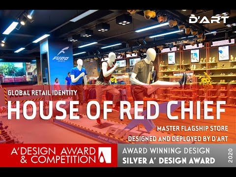 House Of Red Chief | Master Flagship Store | Global Retail Identity | D'art Design