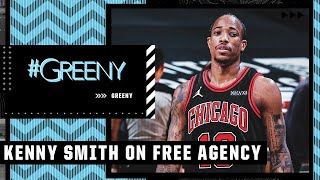 Kenny Smith on free agency: Lakers' roster, Bulls adding DeMar DeRozan and Knicks' moves   #Greeny
