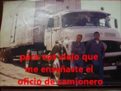 homenaje al camionero