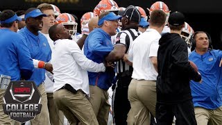 No. 14 Florida outlasts Vanderbilt after benches-clearing scuffle | College Football Highlights