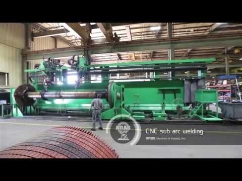 Atlas Machine and Supply - General Machine Shop Video