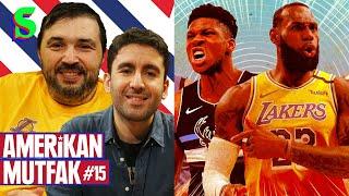 Milwaukee Bucks, Lakers, LeBron James, Larry Nance I Kaan Kural-İnan Özdemir & Amerikan Mutfak S4B15