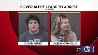 Video: Silver alert leads to arrest of Milford parents