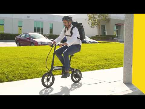 video Swagtron EB-5 Super Folding Bike