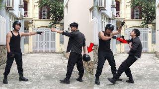 Kỹ năng tự vệ đường phố khi va chạm giao thông