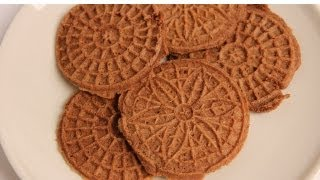 Chocolate Pizzelles Recipe - Laura Vitale - Laura in the Kitchen Episode 354