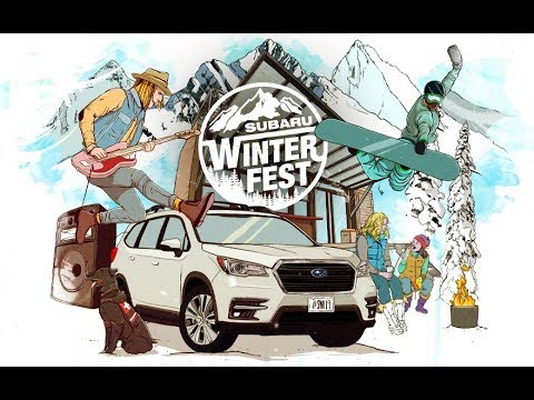 Subaru Celebrates Winter Adventure with Return of Subaru Winterfest in 2019; Automaker launches multi-city, experiential mountain destination and lifestyle tour geared towards winter warriors