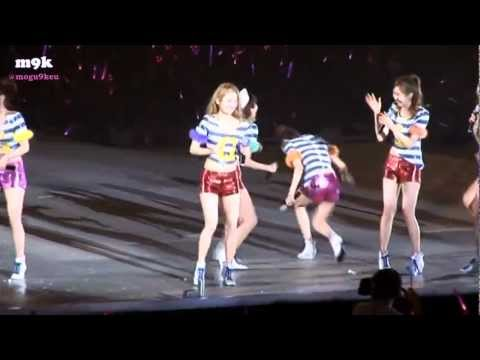 [eng sub] 2011 Girls' Generation Concert Tour - Making Film (BTS) part 3/3 [HD]