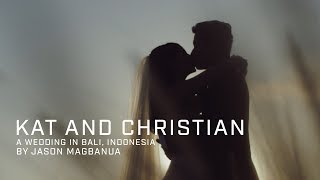 Kat Ramnani and Christian Bautista's Wedding in Bali