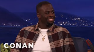 Draymond Green Plays Credit Card Roulette With The Golden State Warriors  - CONAN on TBS