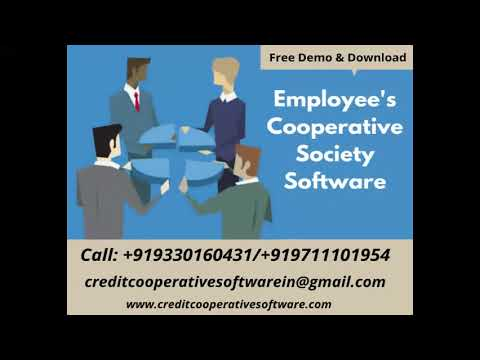 Cooperative Society Software Free demo