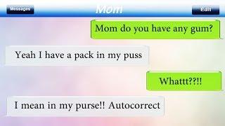 Most Hilarious Autocorrect Texts Messages Fails Ever