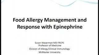 Food allergy, anaphylaxis, and stock epinephrine in foodservice settings