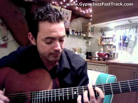 Gypsy Jazz Fast Track - Wicked Crispy Chords #2 - Robin Nolan