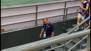 Đình Trọng nhận thẻ đỏ , Quang Hải , HlV Park Hang Seo buồn rầu khi U23 Việt Nam bị loại