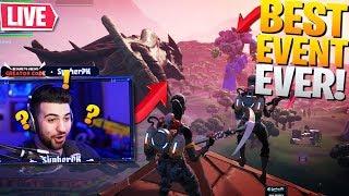 *INSANE* MONSTER VS ROBOT EVENT REACTION! ft. Ninja & TSM Myth (Fortnite Battle Royale - Live Event)
