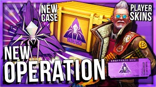 OPERATION SHATTERED WEB UNBOXING + NEW OPERATION