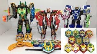 Mainan Legend Hero Robot Changer RTV King Ganwu Phoenix Marine Eternity