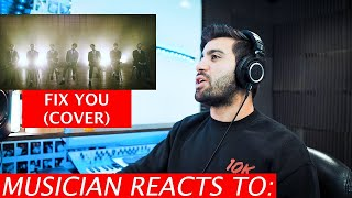 Musician Reacts To Fix You - BTS (Coldplay Cover)