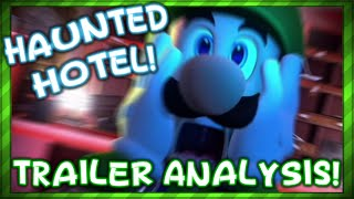 Luigi's Mansion 3 ▬ Haunted Hotel! ► Trailer Analysis and Theory