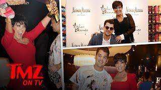 Kris Jenner Promoting Rob Kardashian's Sock Company In Midst Of His Child Support War | TMZ TV