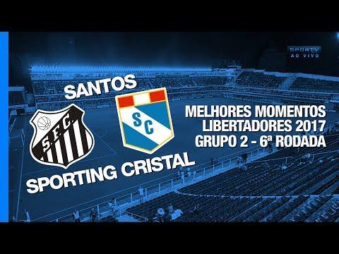 Santos vs Sporting Cristal