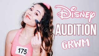 get ready with me for a DISNEY audition!