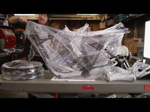 Motorcycle Restoration Part 3: Frame & Suspension