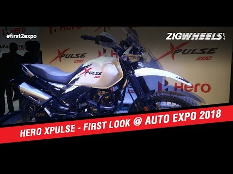 Hero XPulse 200 At Auto Expo 2018: First Look