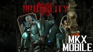 СДЕЛАЛ БРУТАЛИТИ В ИСПЫТАНИЕ САБ-ЗИРО ТРИБОРГ • Mortal Kombat X Mobile