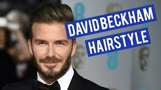 David Beckham (Star Wax Clay Review) | Men's Hairstyle Tutorial