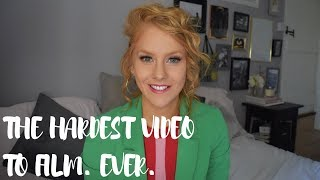 THE HARDEST VIDEO I HAVE EVER FILMED.REAL NATALIE! EATING, BULLING, FITTING IN WITH A FEW TEARS!