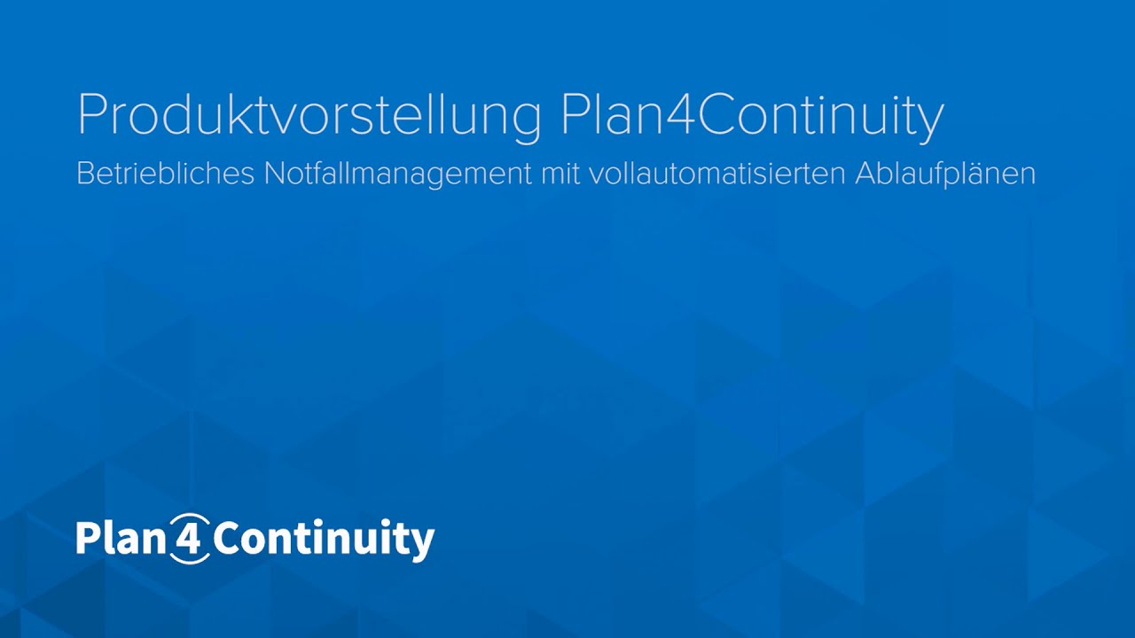 Plan4Continuity