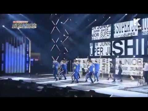 Super Junior 2015-150128-K-POP Awards- Super Junior- Shirt +This Is Love + Mamacita