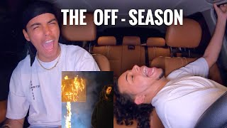 J. COLE - THE OFF SEASON | REACTION REVIEW