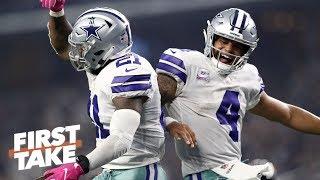 Dak Prescott-Zeke Elliott duo to have biggest impact vs. Rams | First Take