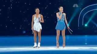 """Hero"" by Yu-Na Kim & Michelle Kwan (2010 All That Skate LA)"