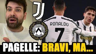 Chiesa e Ronaldo SUPERLATIVI! 😍 Alex Sandro è invecchiato male 😅 // Pagelle Juventus Udinese 4-1