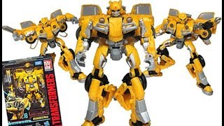Transformers Studio Series Bumblebee Movie SS-18 Bee Deluxe Class Figure Review