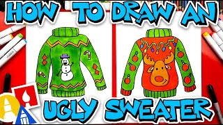 How To Draw An Ugly Sweater