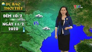 Từ 10 - 16/2 Bắc Bộ rét giảm dần   Dự báo thời tiết đêm 10 ngày 11/2