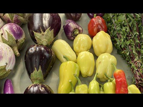 screenshot of youtube video titled The Pinehurst Farmers Market in Columbia, SC