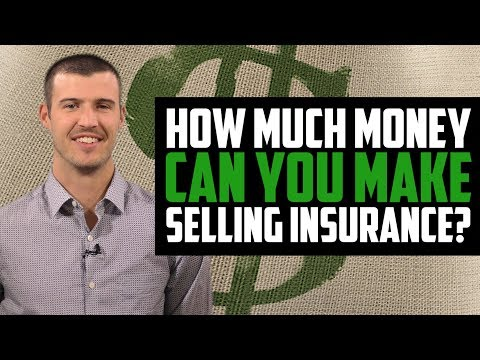 How Much Money Can You Make Selling Insurance? $$$