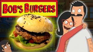 How to Make BOB'S BURGERS - BET IT ALL ON BLACK! Feast of Fiction S6 E2