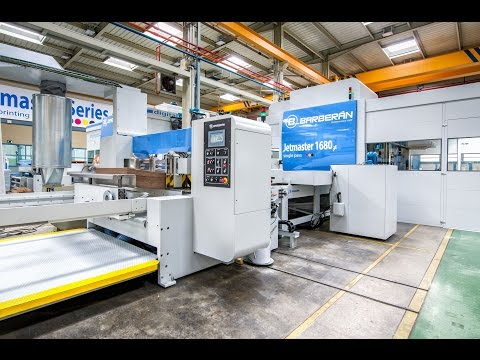 High quality & high speed digital printer: Barberán Jetmaster 1680