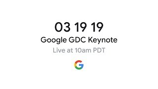 Google GDC 2019 Gaming Announcement