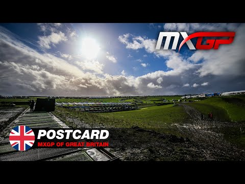 MXGP of Great Britain 2021 - Postcard