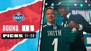 Picks 11-20: 2 More Quarterbacks & the Heisman Winner off the Board   2021 NFL Draft