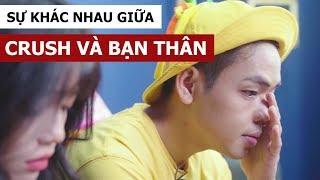 Sự khác nhau giữa crush và bạn thân (Oops Banana Vlog #41)